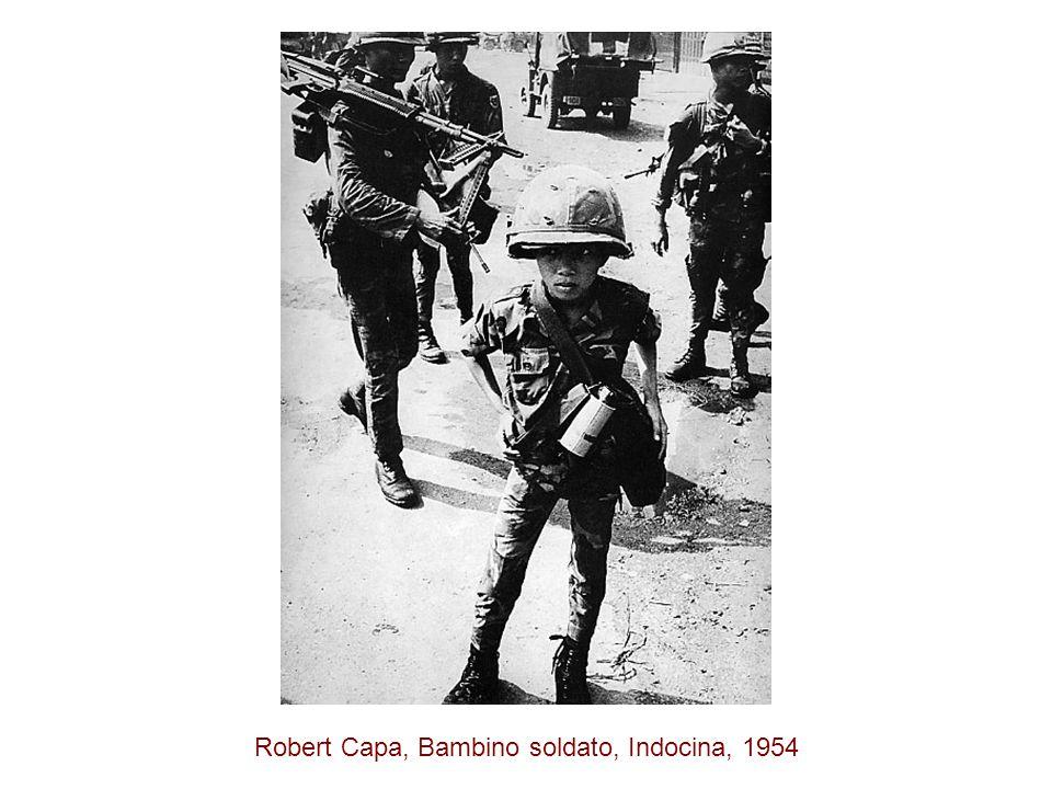Robert Capa, Bambino soldato, Indocina, 1954