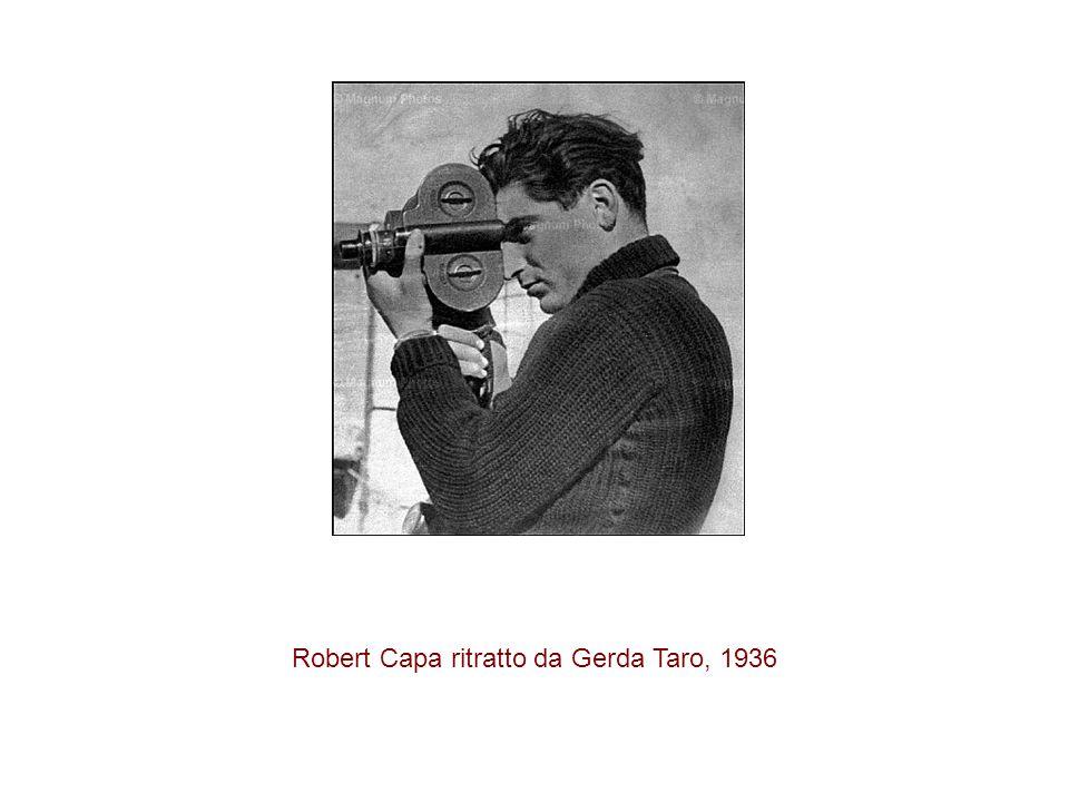 Robert Capa ritratto da Gerda Taro, 1936