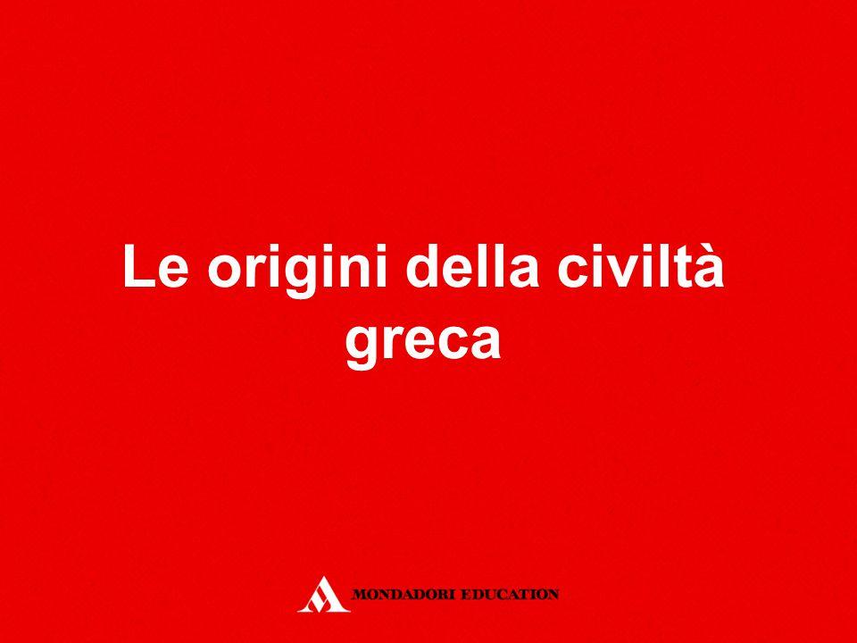 Le origini della civiltà greca