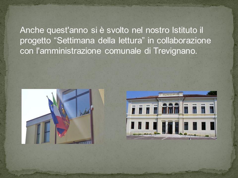 """Anche quest'anno si è svolto nel nostro Istituto il progetto """"Settimana della lettura"""" in collaborazione con l'amministrazione comunale di Trevignano."""