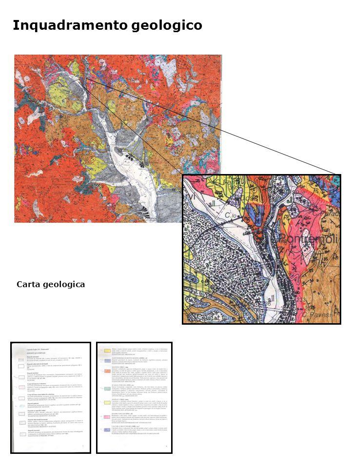 Carta geologica Inquadramento geologico