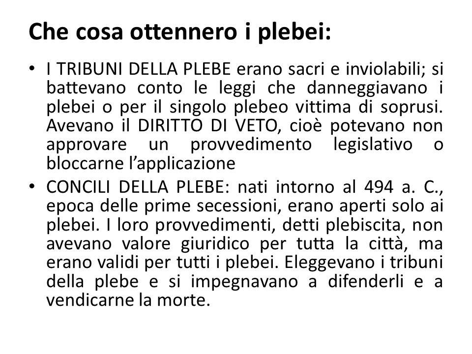 LEGGI DELLE XII TAVOLE: 451 - 450 a.C., prime leggi scritte di Roma.
