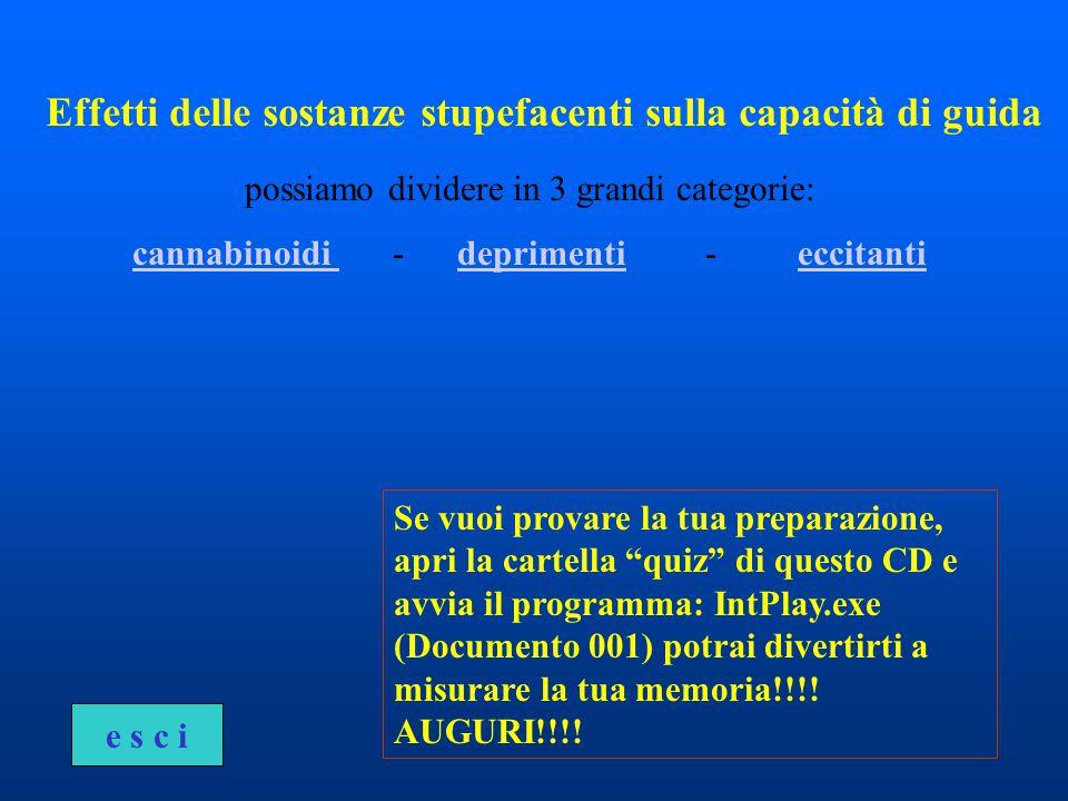 Se vuoi provare la tua preparazione, apri la cartella quiz di questo CD e avvia il programma: IntPlay.exe (Documento 001) potrai divertirti a misurare la tua memoria!!!.