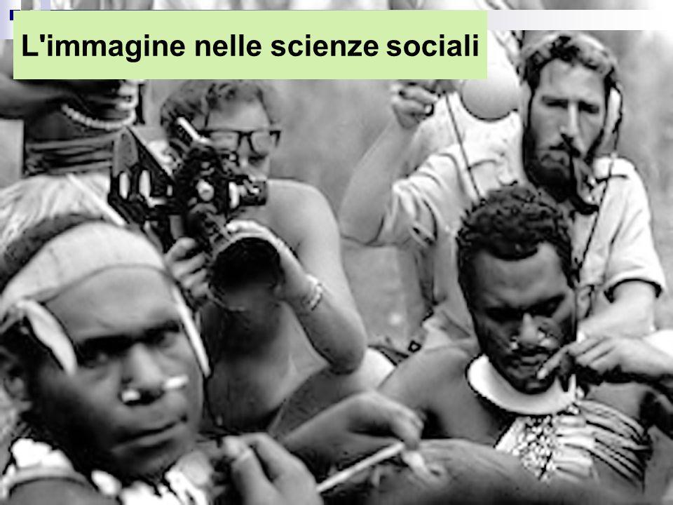 Cambiamento nell'utilizzo dell'immagine nelle scienze sociali.