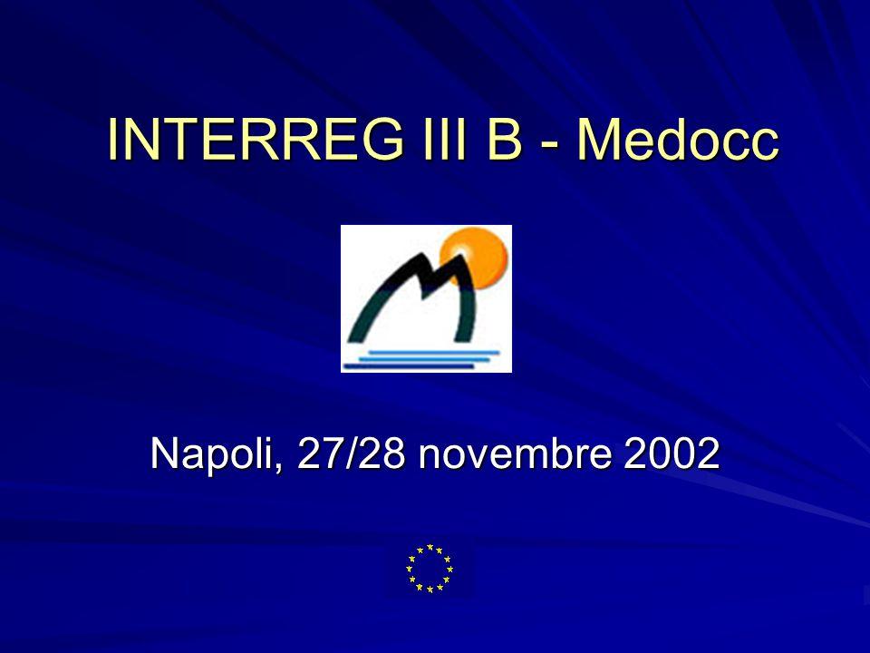 INTERREG III B - Medocc Napoli, 27/28 novembre 2002