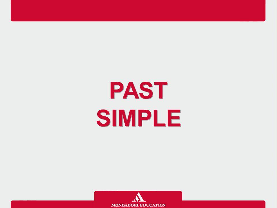 Il Past simple si usa per descrivere azioni compiute nel passato, quando nella frase c'è un'espressione di tempo che indica un momento del passato o quando è chiaro (anche in assenza di espressioni di tempo) che l'azione ha avuto luogo nel passato ed è ora terminata.