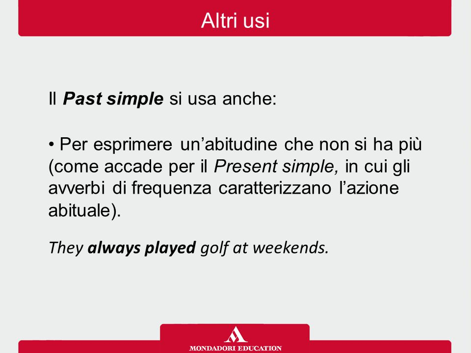 Inserisci il Past simple dei verbi tra parentesi alla forma affermativa, interrogativa o negativa.