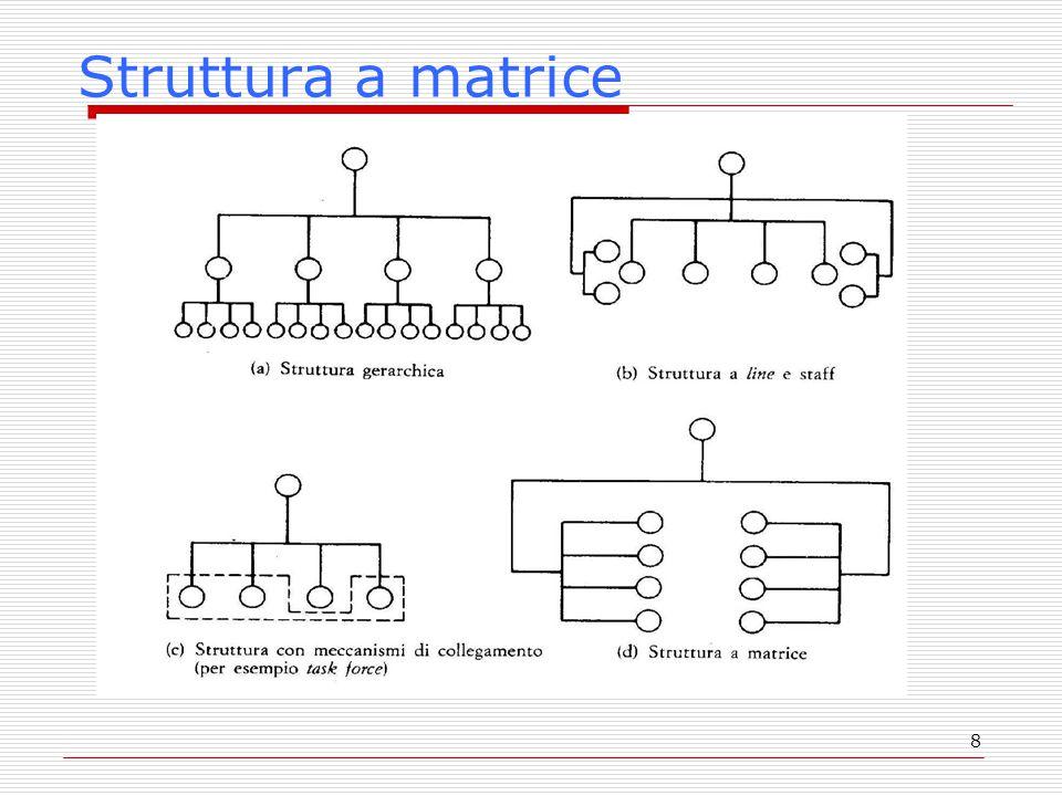 8 Struttura a matrice