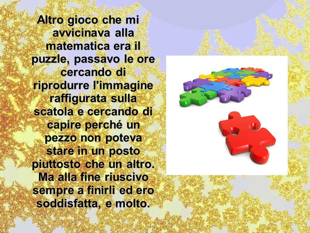 Penso che questi siano due giochi molto educativi poiché permettono lo sviluppo matematico in campo logico e geometrico.