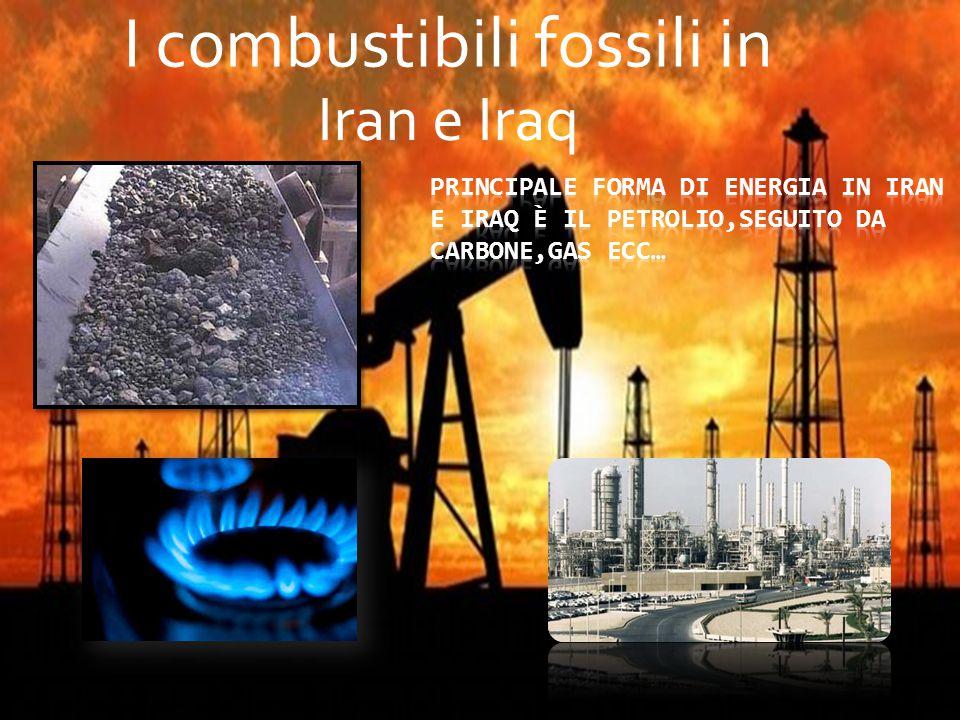 I combustibili fossili in Iran e Iraq