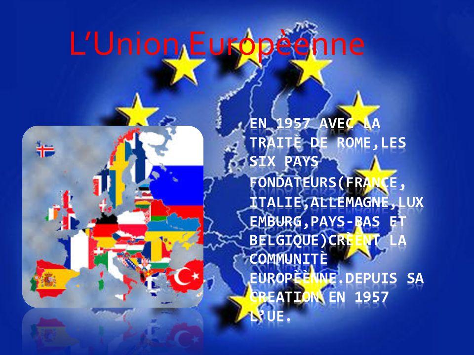 L'Union Europèenne