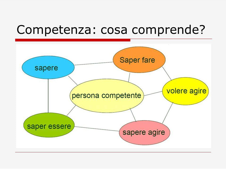 Competenza: cosa comprende?