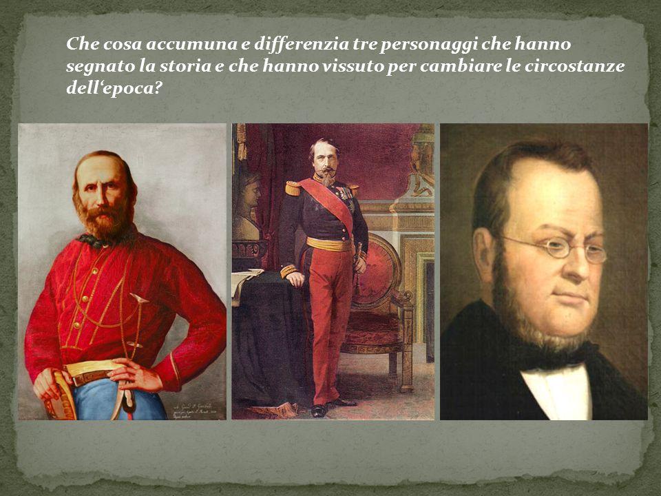 Cavour Sosteneva idee liberali, progresso civile ed economico Alternativa al dominio degli Asburgo in Italia grazie a riforme Ideologia conservatrice (restaurazione conservatrice) Napoleone III