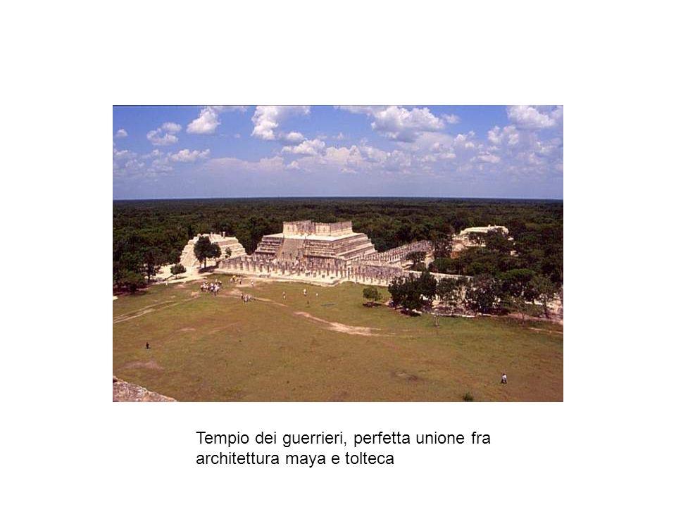 Tempio dei guerrieri, perfetta unione fra architettura maya e tolteca
