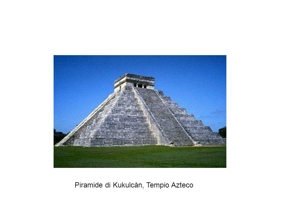 Piramide di Kukulcàn, Tempio Azteco