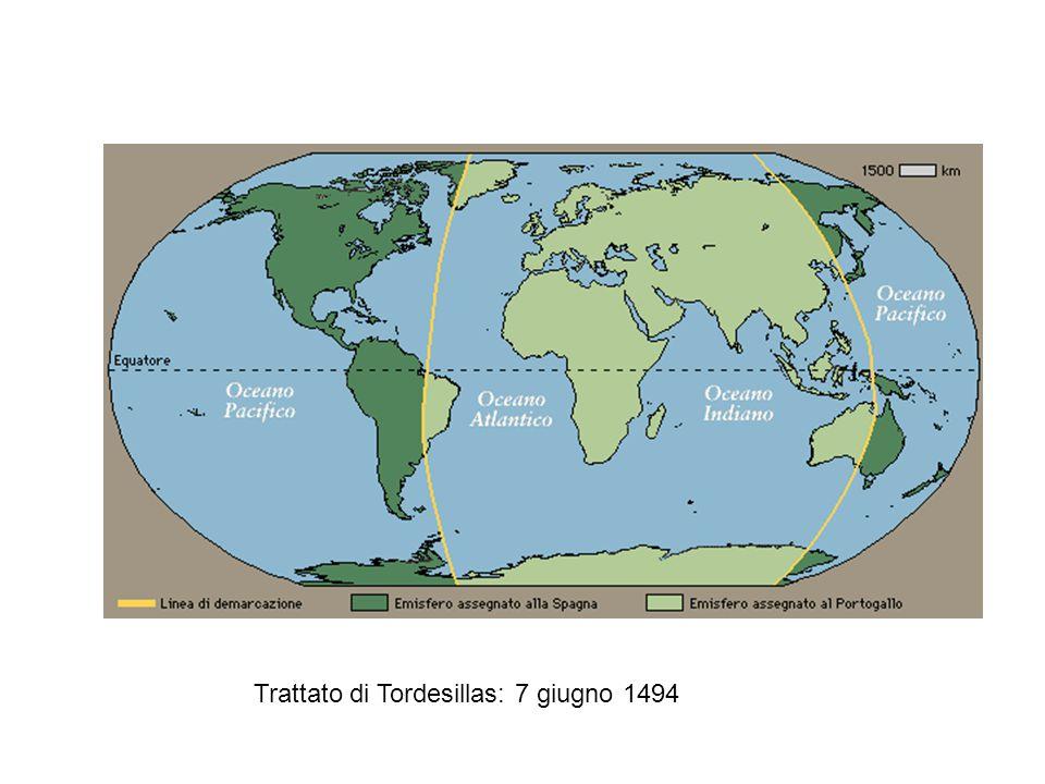 Trattato di Tordesillas: 7 giugno 1494