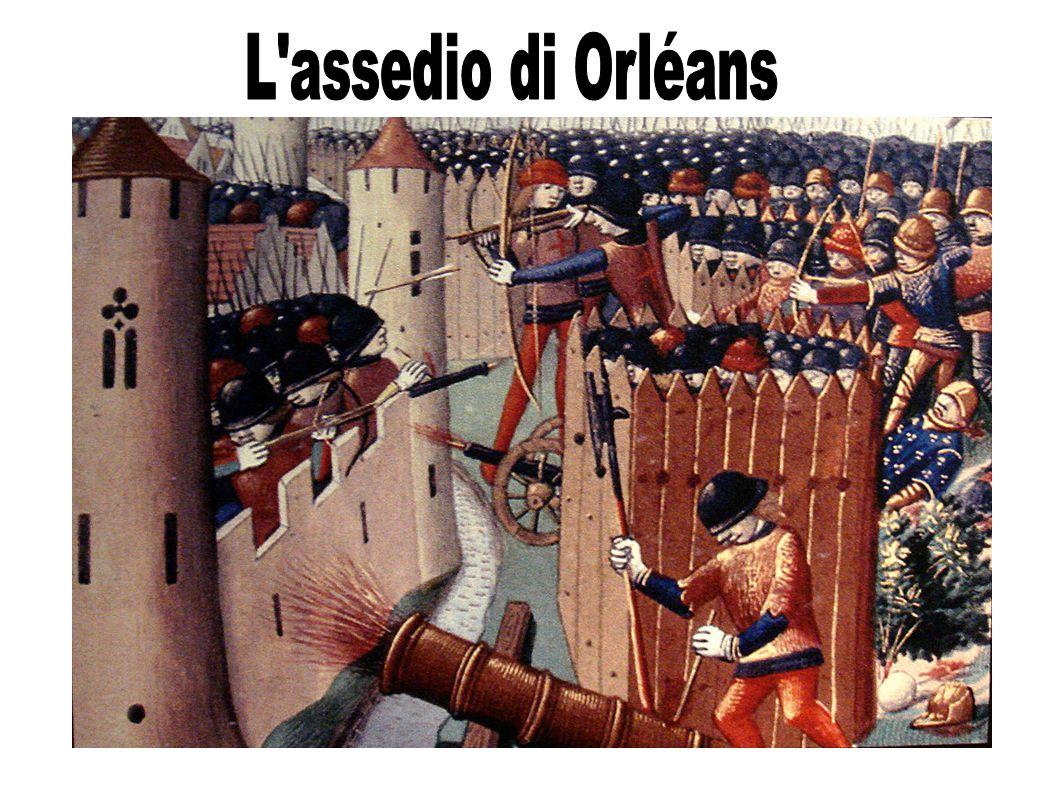 Giovanna d'Arco e la fine della guerra 1429: i seguaci del re Carlo VII e Giovanna d'Arco convincono il re a riprendere il conflitto.