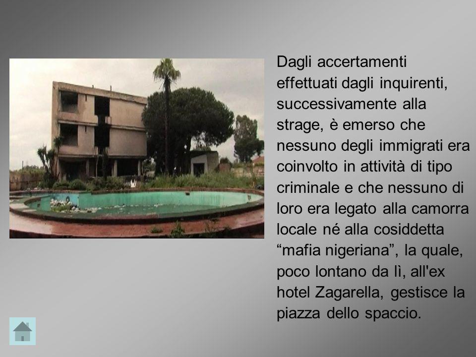 Quella che verrà definita la strage di San Gennaro, è preceduta da un altro omicidio a distanza di pochi chilometri.