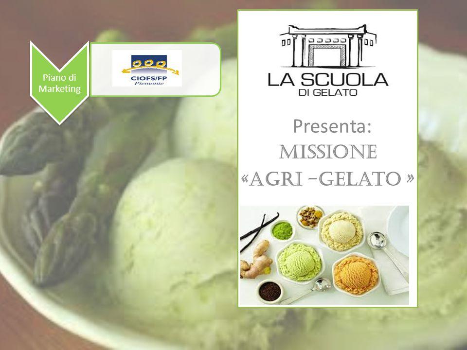 Agri- gelato Analisi del cliente IL GELATO E' SENZA TEMPO..