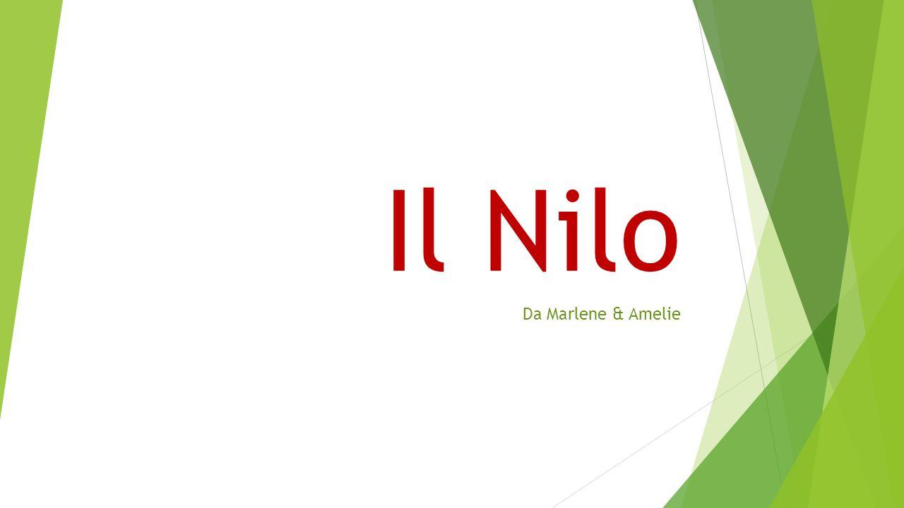 Indice La storia del Nilo Dove scorre.