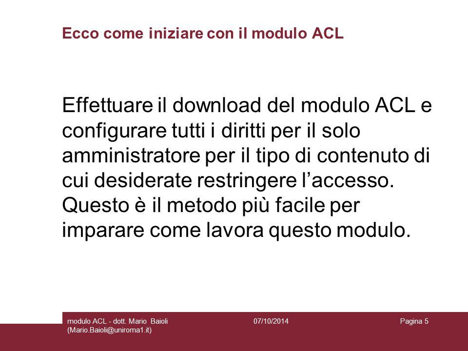 Download modulo ACL Al momento sul mio sito è up questo modulo: 07/10/2014modulo ACL - dott.