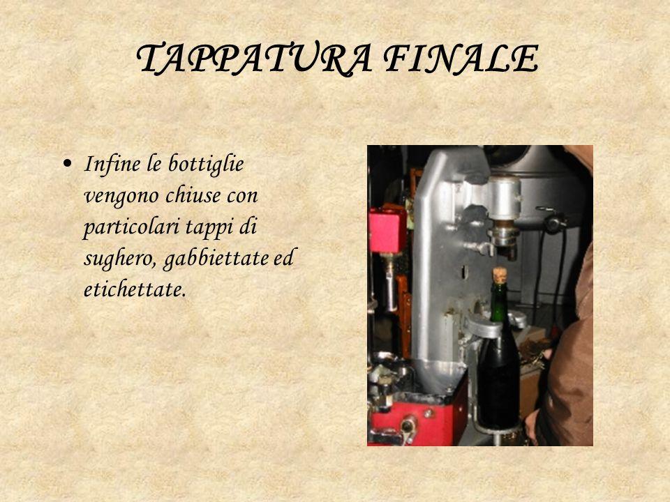 Particolarità legali Classificazione Pas Dosè o nature Extra Brut Zucchero Residuo Max 6 g/l Brut, herb Zucchero residuo Max 15 g/l Extra Dry Zucchero residuo Max 12-20 g/l Dry, sec, secco, asciutto Zucchero residuo Max 17-35 g/l Semi-secco Demi-sec abboccato Zucchero residuo Max 33-50 g/l Dolce,doux, Mild, sweet Zucchero residuo oltre 50 g/l
