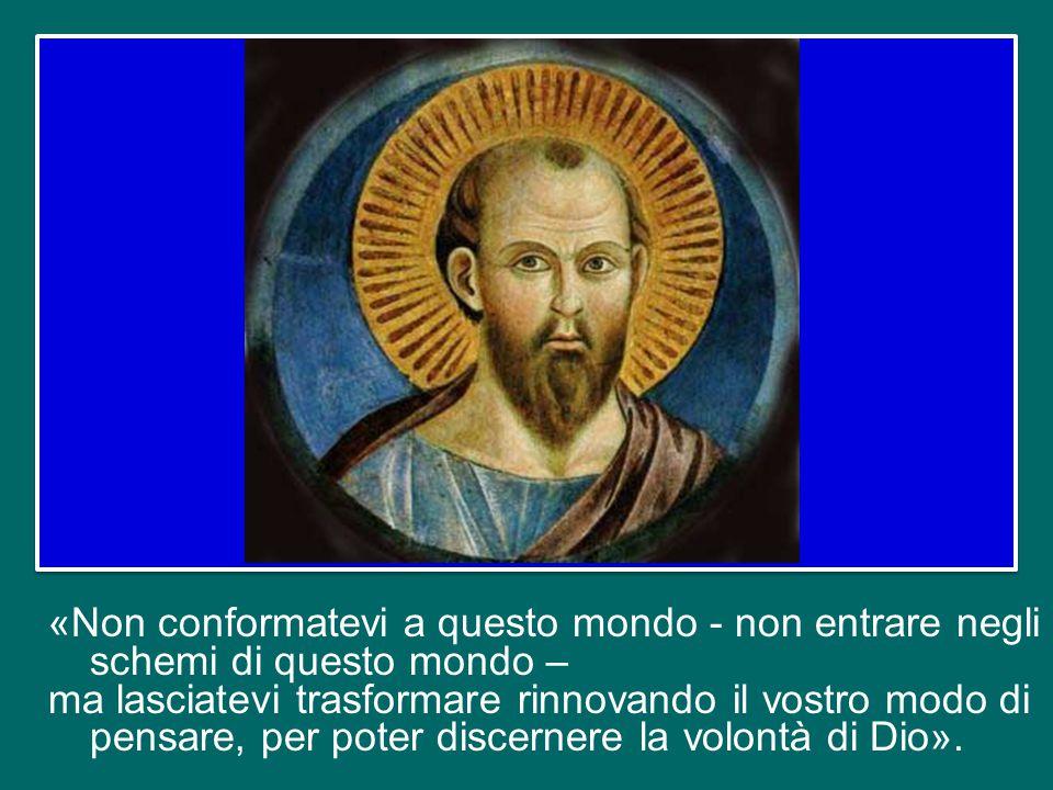 """Allora Gesù, a sua volta, rimprovera duramente Pietro, lo rimette """"in riga"""", perché non pensa «secondo Dio, ma secondo gli uomini» (v. 23) e senza acc"""