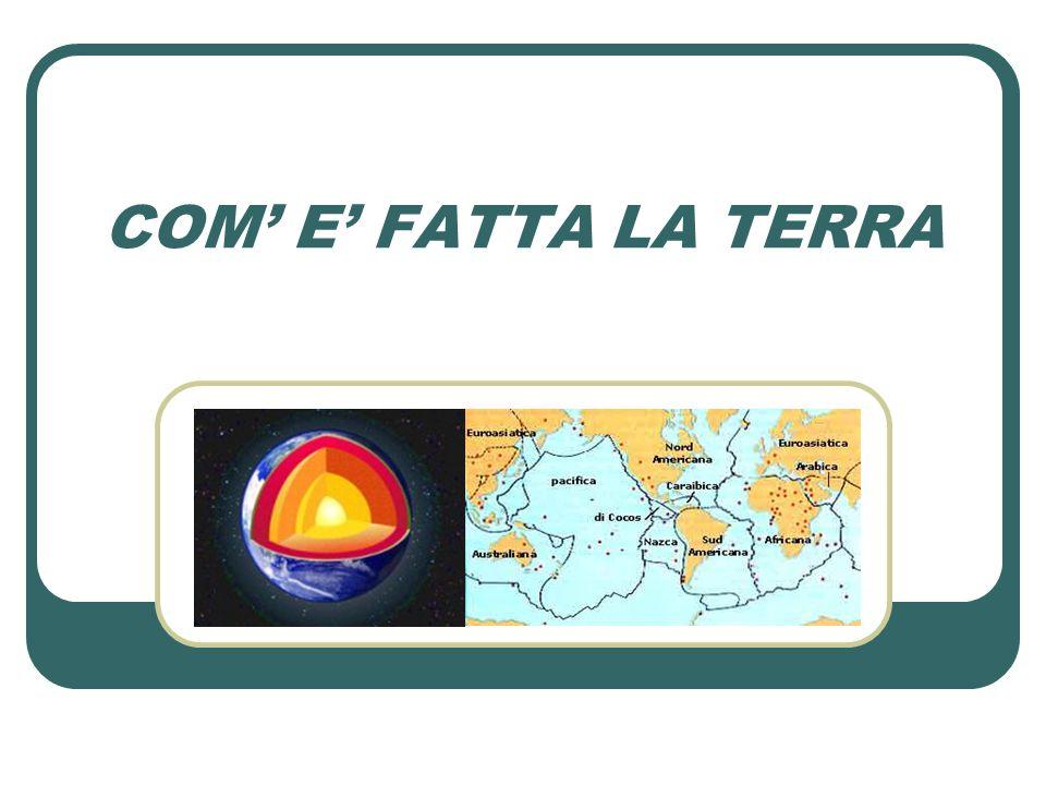 COM' E' FATTA LA TERRA