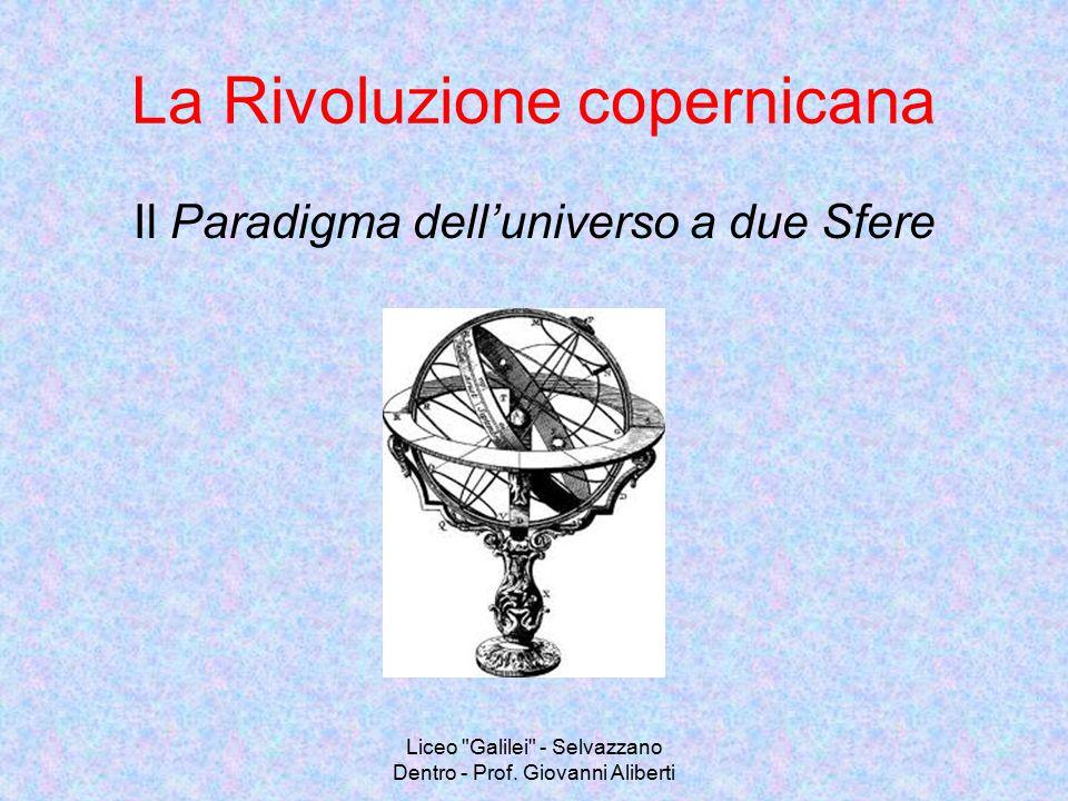 Liceo Galilei - Selvazzano Dentro - Prof.Giovanni Aliberti 5.1.