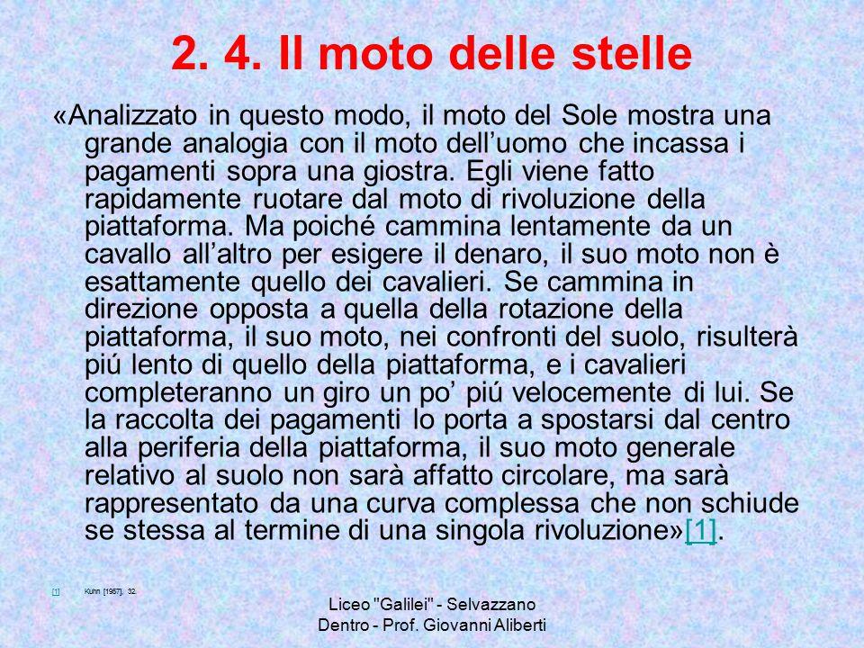 Liceo Galilei - Selvazzano Dentro - Prof.Giovanni Aliberti 4.