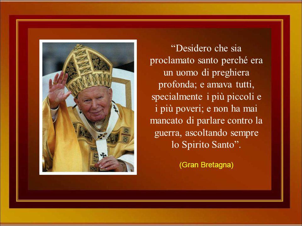 """""""Giovanni Paolo II, non sono mai stata vicino alla Chiesa, mi annoiava, non capivo. L'amore si, quello l'ho sempre capito! Ed è per puro amore che ti"""