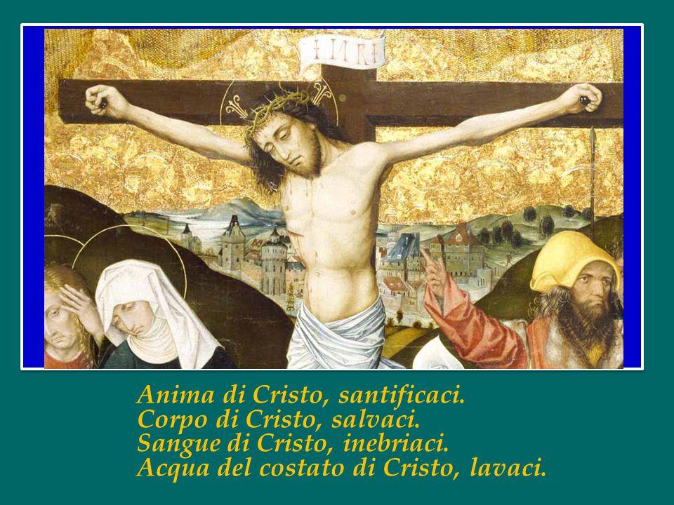 Anima di Cristo, santificaci.Corpo di Cristo, salvaci.
