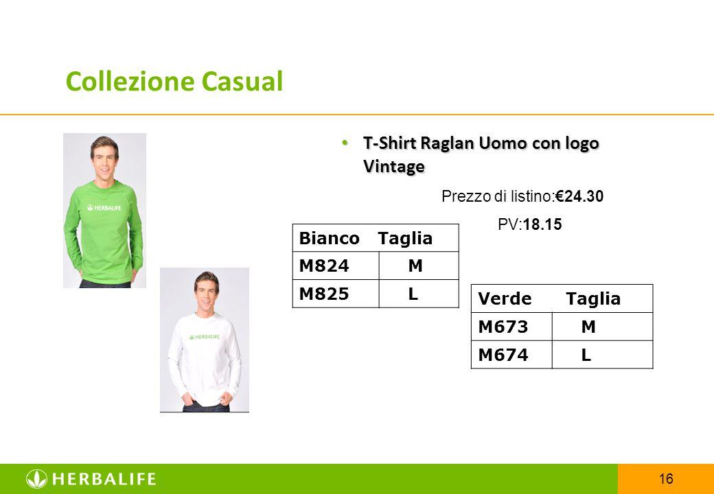 16 T-Shirt Raglan Uomo con logo Vintage T-Shirt Raglan Uomo con logo Vintage Prezzo di listino:€24.30 PV:18.15 Bianco Taglia M824 M M825 L Verde Tagli