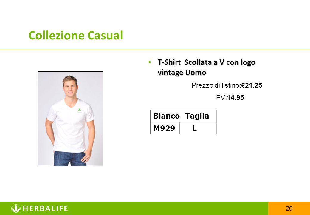 20 T-Shirt Scollata a V con logo vintage Uomo T-Shirt Scollata a V con logo vintage Uomo Prezzo di listino:€21.25 PV:14.95 Bianco Taglia M929 L Collez