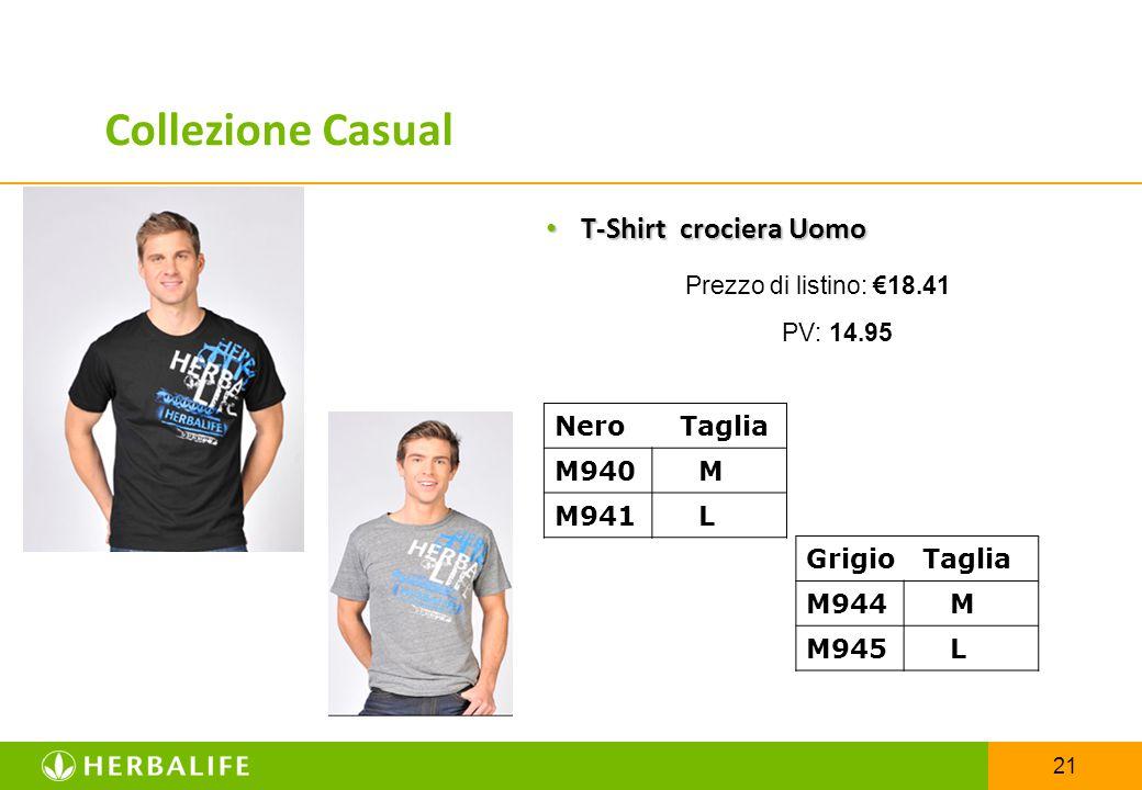 21 T-Shirt crociera Uomo T-Shirt crociera Uomo Prezzo di listino: €18.41 PV: 14.95 Nero Taglia M940 M M941 L Grigio Taglia M944 M M945 L Collezione Ca