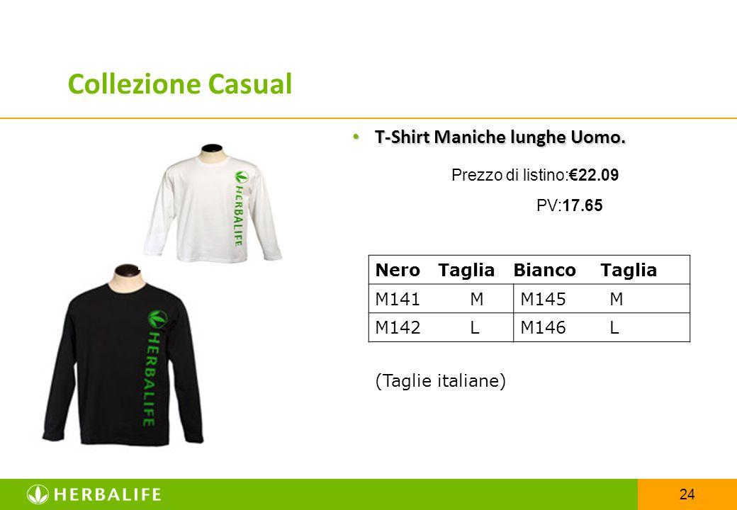 24 T-Shirt Maniche lunghe Uomo. T-Shirt Maniche lunghe Uomo. Prezzo di listino:€22.09 PV:17.65 Nero Taglia Bianco Taglia M141 MM145 M M142 LM146 L (Ta
