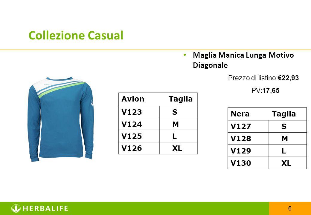 6 Maglia Manica Lunga Motivo Diagonale Prezzo di listino:€22,93 PV:17,65 Avion Taglia V123 S V124 M V125 L V126 XL Collezione Casual Nera Taglia V127