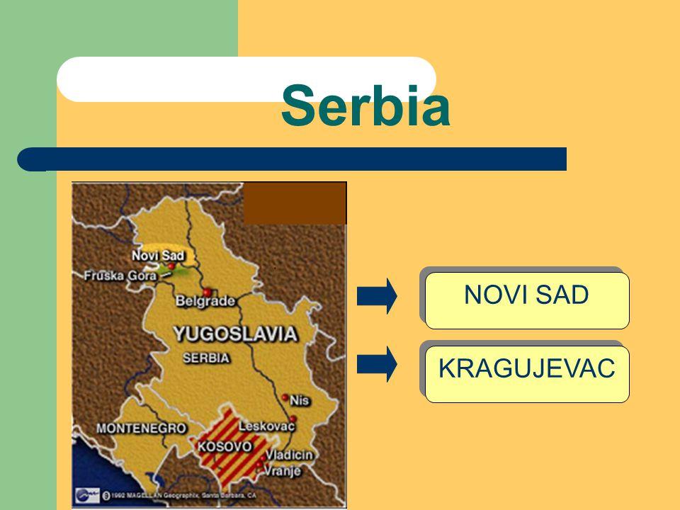 Serbia NOVI SAD KRAGUJEVAC