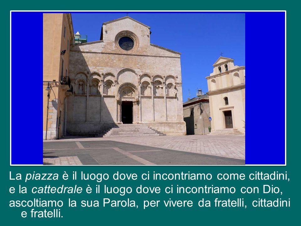 Ringrazio Mons. Camillo Cibotti, il nuovo Vescovo di Isernia, e il suo predecessore, Mons. Salvatore Visco, il Sindaco, le distinte Autorità e tutti c