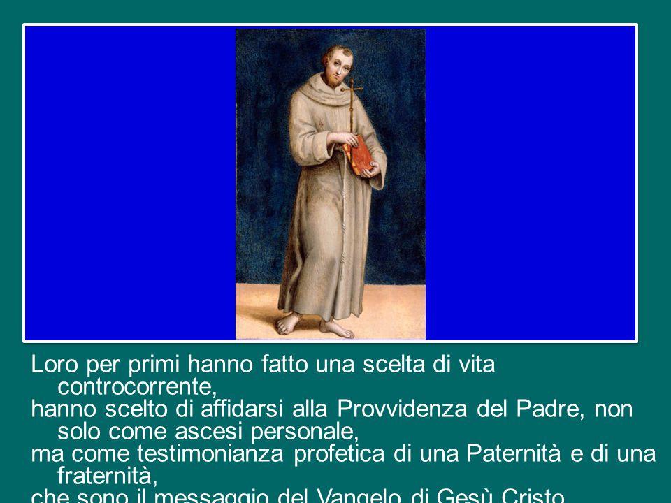 Pietro del Morrone, come Francesco d'Assisi, conoscevano bene la società del loro tempo, con le sue grandi povertà. Erano molto vicini alla gente, al