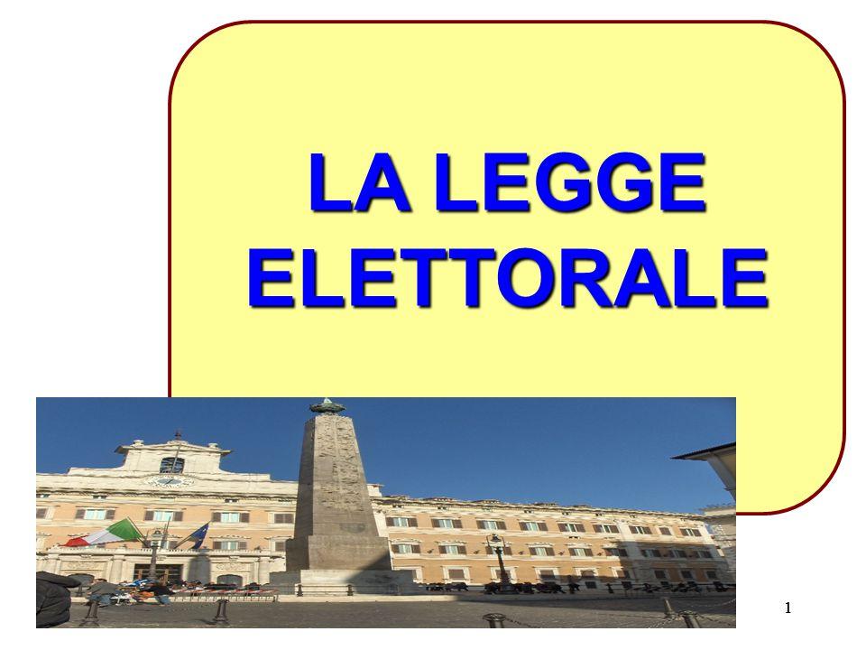 111 LA LEGGE ELETTORALE