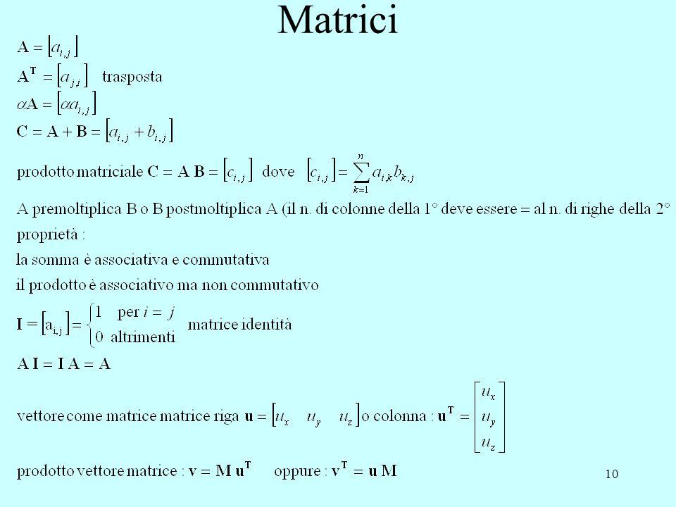 10 Matrici