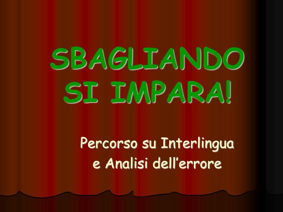 Sottogruppo 2 - Interlingua Carla Atzeni, Carmela Calise, Alessandro Giorni, Elena Guaraglia, Elena Pezzi