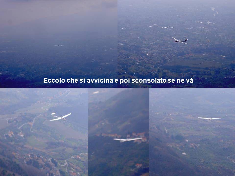Per il vento discreto gli atterraggi sono un pochino corti c'è chi atterra nei pruni e chi arriva proprio corto Foto By A.Antoni