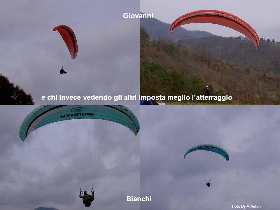 e chi invece vedendo gli altri imposta meglio l'atterraggio Giovanni Bianchi Foto By A.Antoni