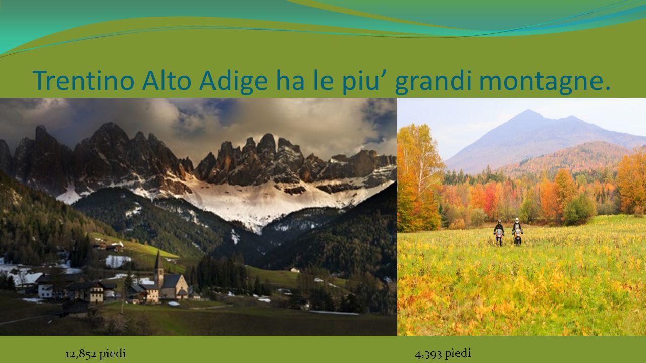 Entrambi Vermont e Trentino Alto Adige sono bellissimi