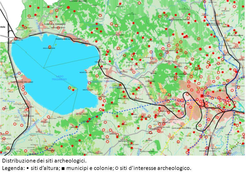 Mappa di Perugia etrusca