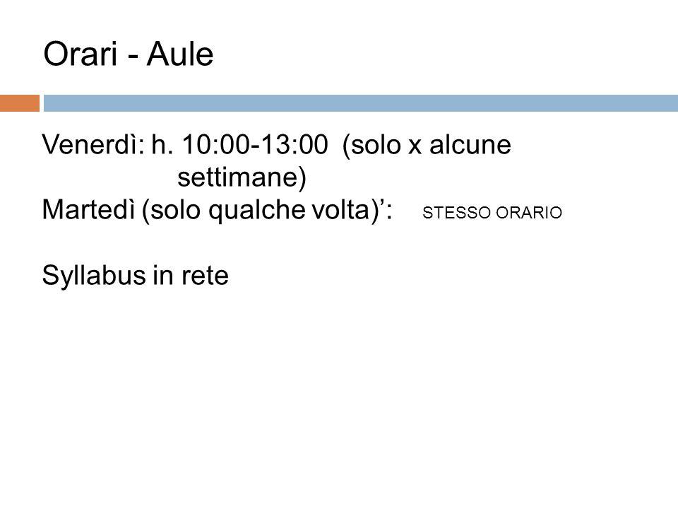 Docenti 7 Prof.ssa Carolina Guerini Ricevimento: venerdì ore 14.15 (inviare e-mail per fissare)