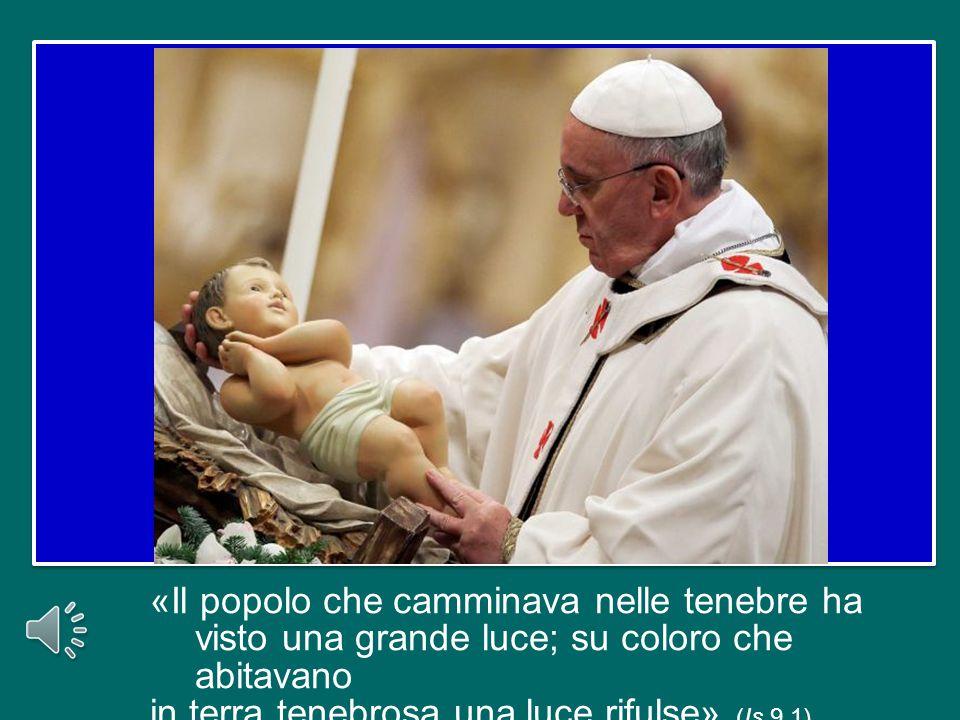 Risultati immagini per Immagine del Gesù Bambino visto nella Messa del Papa in San Pietro questa sera