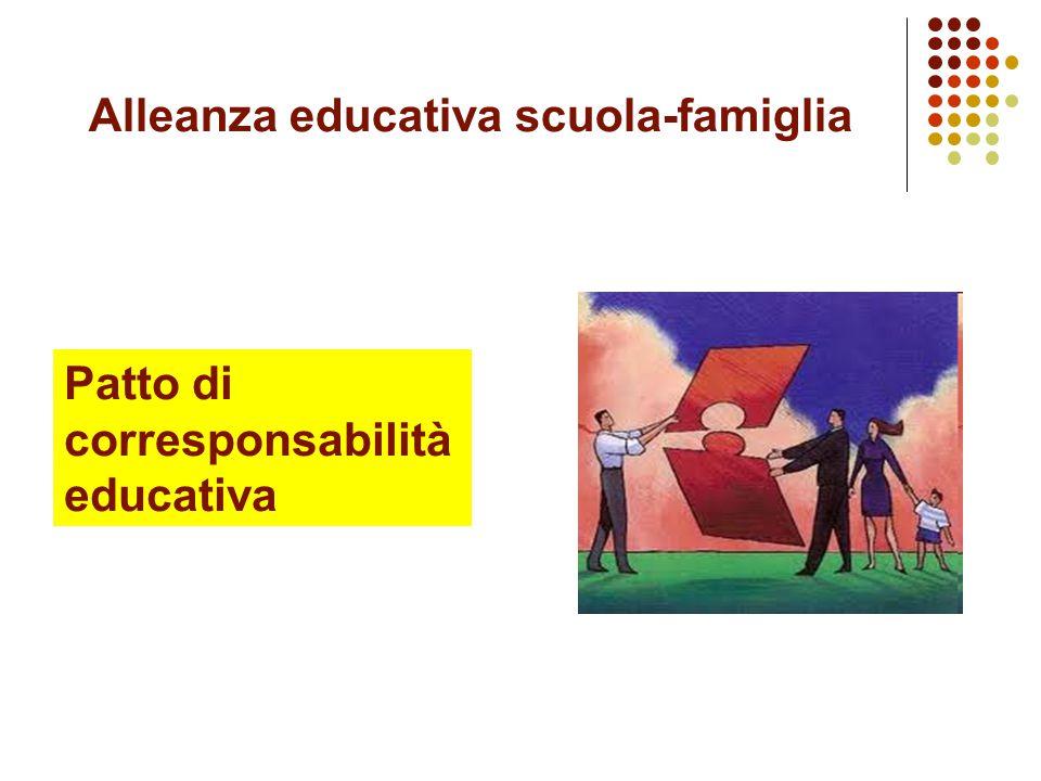 La scuola come comunità La scuola deve essere consapevole di essere una comunità educante, nella quotidianità